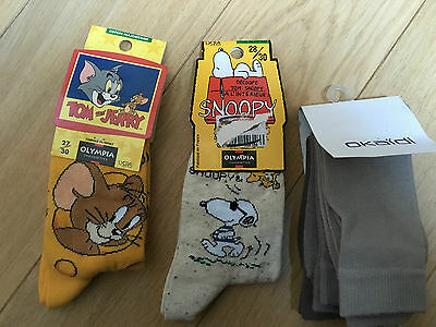 Neuf ! Lot De Chaussettes 5 Paires Olympia Okaidi 27/30