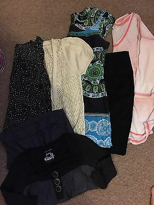 Bundle Of Ladies Size 10 Clothes,river Island/primark Ect