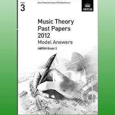 ABRSM Theory Of Music Exams 2012: Model Answers - Grade 3