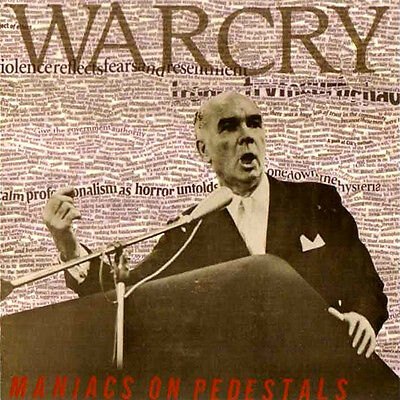 WARCRY - MANIACS ON PEDESTALS LP, dark crust/hc-punk with members of Tragedy