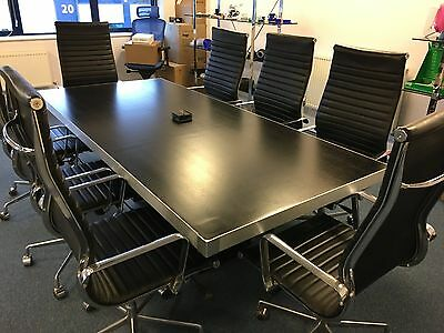 Office Table and 8 Chairs