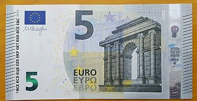 Billet de 5 EURO France NEUF Draghi U003G6