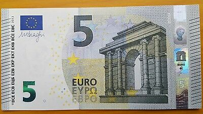 Billet de 5 EURO France NEUF Draghi U003D2