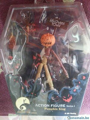 Pumpkin King The nightmare before christmas action figure Series 1  New