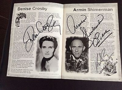 Star Trek And Other Sci-fi Autographs