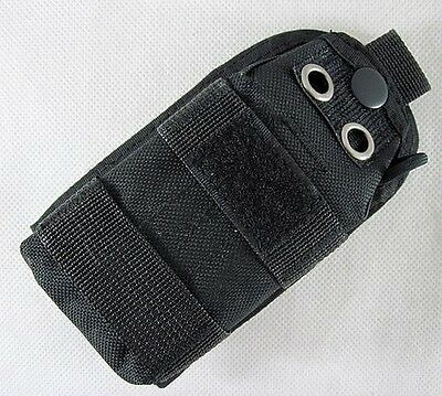 New Airsoft Molle Strobe/Flashlight/Compass Pouch Black