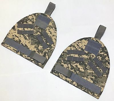 New Molle Outer Shoulder Protector Pad Sets For Armor Carrier Vest ACU Airsoft