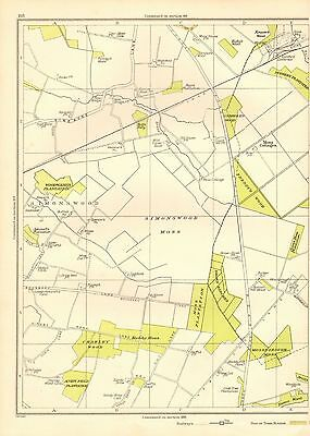 1935 Lancashire Original Map- Simonswood Moss, Coach Road