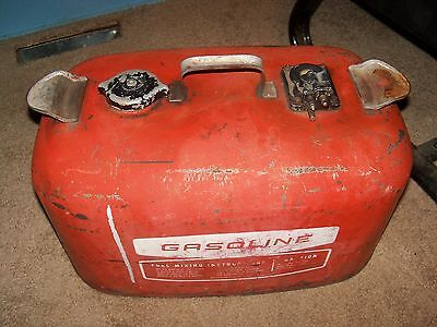 Vintage Outboard Motor Co. 4 Gallon Boat Gas Can