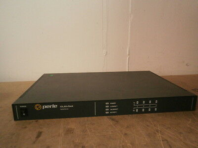 Perle IOLAN+RACK 4-Port Serial Secure Console Server ** WORKING ** inc.VAT