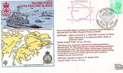 1982 The Task Force To The Falklands Raf(Ac)4 R.a.f. Fdc From Collection L13