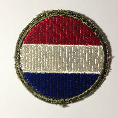 Military Patch- U.s. Army Wwii Ground Forces Shoulder Patch