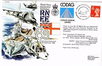1989 Royal Navy Equipment Exhibition Forces Mail Fdc From Collection L16