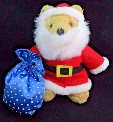 Applause Bears In Toyland Plush Santa Teddy #51501 Plush Vintage Stuffed Bear