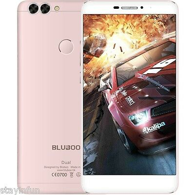 BLUBOO Dual Android 6.0 5.5 inch 4G Smartphone Quad Core 1.5GHz 2GB+16GB