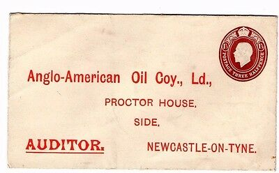 Gv Three Halfpence Anglo-American Oil Company Cover  From Collection M18