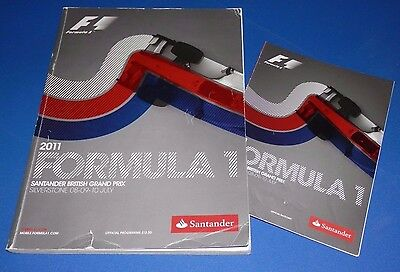 Silverstone - British Grand Prix programme and racecard 2011