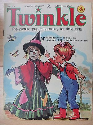 TWINKLE COMIC - 5th NOVEMBER 1977 (5th - 11th)  RARE LADY'S 40th BIRTHDAY GIFT!!