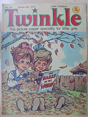 TWINKLE COMIC - 8th OCTOBER 1977 (8th - 14th)  RARE LADY'S 40th BIRTHDAY GIFT!!