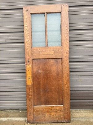 Cm 204 Antique Oak Entrance Door 31 And Three-Quarter By 84 Inch