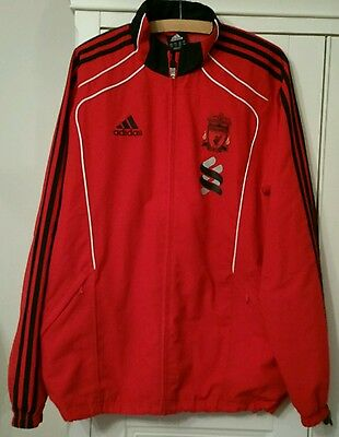 "LIVERPOOL FOOTBALL CLUB TRACKSUIT - Jacket (Size XL) & Trousers (Size 38"")"