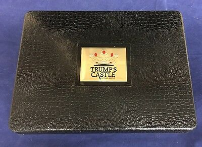 Collectable Trump's Castle Hotel and Casino, Atlantic City Tolietry Set Vintage