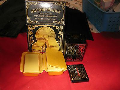 SAFE COMBINATION Change Bank TAI WINDS Frangrance Soaps