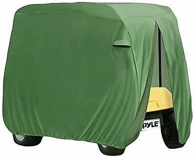 Pyle PCVGFCSO20  Armor Shield Golf Cart Zipper Protective Storage Cover F... New