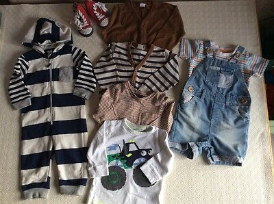 Used Boys Clothes. Age 9-12 Months.
