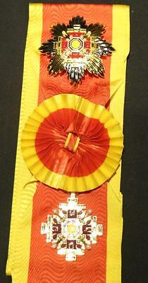 Grand Cordon Order of the pillars of state Manchukuo  Precision reproduction