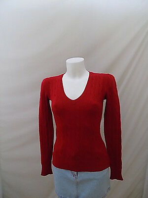 Ralph Lauren Maglione Jumper Sweater Woman Pullover Donna S Casual B7148