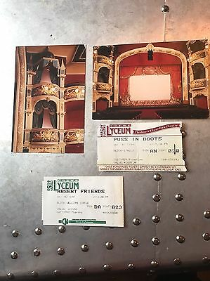 Crewe Lyceum Theatre Postcards And Used Tickets