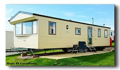 8 berth Holiday home on DEVON CLIFFS. 24th-28th APRIL 4 night stay.