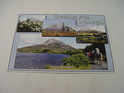 OZ929 - Post card - Greetings from Donegal, Mount Errigal
