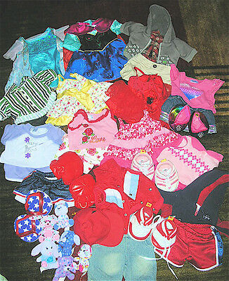 Huge Lot Of Build A Bear Clothing - Less Than $2 An Outfit  - Lot 4