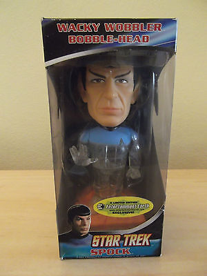Star Trek Spock Bobble-Head - boxed / talks too (2009) - Limited Edition
