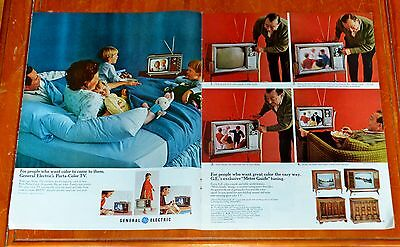 1968 General Electric Vintage Electronics Catalog Television Radio Stereo 60S