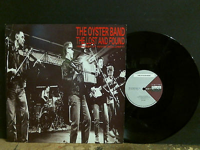 "OYSTER BAND  The Lost And Found   12"" single      Folk Rock   Lovely copy !"