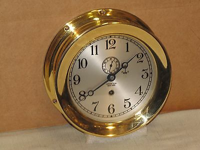 "Chelsea  Antique Ships Clock~Tiffany & Co.~6"" Dial~1918~Ww1 Era~Restored"