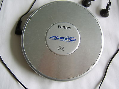 PHILIPS AX2330/00 45ESP Jogproof Compact Disk Player with Ear Phones