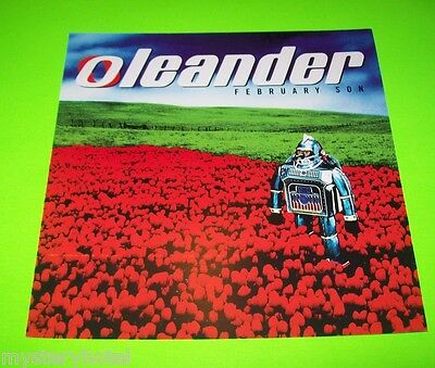 "OLEANDER FEBRUARY SON ORIGINAL UNIQUE COLOR PROMO DOUBLE SIDED FLAT 12""x12"""