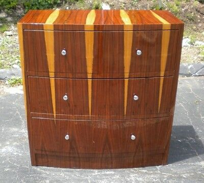Art Deco Chest Drawers Cabinet Commode special Rosewood