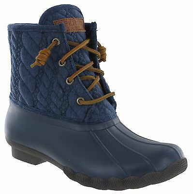 Sperry Waterproof Duck Boots Womens Top-Sider Hiking Walking Rain Rubber Snow