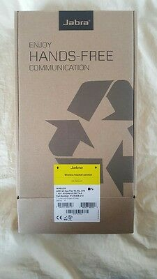 Jabra GN9125 Flex Duo NC Stereo Wireless Microphone Headset base & charger New!!