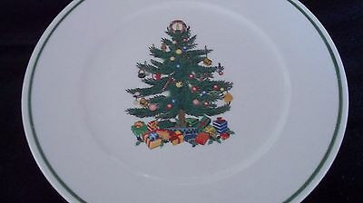 Badcock Christmas Tree Plate