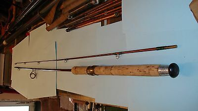 Hardy Brothers Alnwick Vintage 7Ft Greenheart Spinning Rod