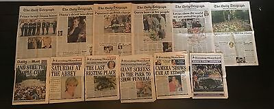 DEATH OF DIANA Newspaper Collection 1997 HRH Princess Wales