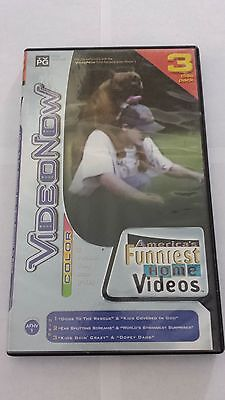 VideoNow Color America's Funniest Home Videos 3 Disc Set (PVD, 2004)