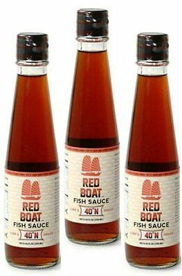 Red Boat Fish Sauce 40°N 250 ML Pack of 3