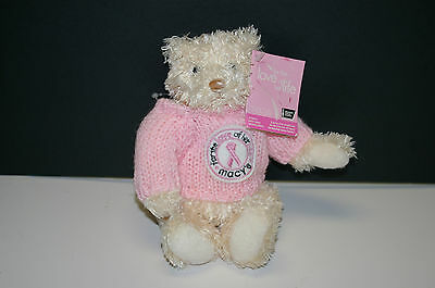 'for The Love Of Her Life' American Cancer Society Macy's  Bear By Gund